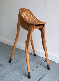 Bambi Stool - James Plumb... Needs a head! Gave me an idea to make a rocking deer (instead of a horse) someday for kids