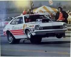 Vintage Drag Racing - Pro Stock - Glidden + Allen