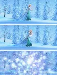 Thank you for that Elsa, it's not like we had enough snow
