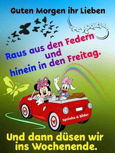 Freitag Image Clipart, Workout, Good Morning, Spirituality, Disney, Movie Posters, Friends, German, Tattoo