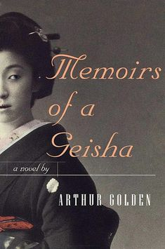 Memoirs of a Geisha by Arthur Golden. Read this many years ago and remember loving it. Want to re-read cause I can't remember why.
