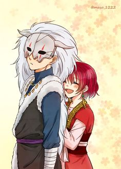 Akatsuki no Yona - Yona and Shin-ah!