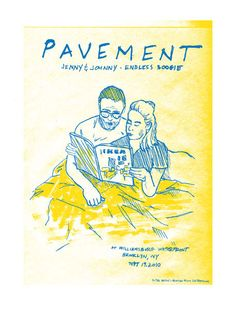 GigPosters.com - Pavement - Jenny And Johnny - Endless Boogie