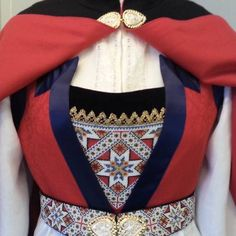 Folk Costume, Costumes, Folk Clothing, Water Lilies, Traditional Outfits, 4th Of July Wreath, Norway, Doll Clothes, Ethnic