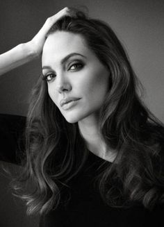 Angelina Jolie by Melodie McDaniel for Le Monde magazine 2012 _