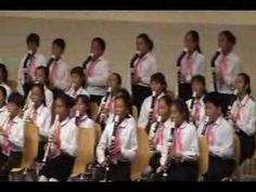 Korean recorder freak children (Mokpo, South Korea) - YouTube  playing The Can Can