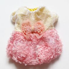 Fancy Sequin Pink DOG Dresses Wedding Bridal PET Apparel DOG Clothes XS S M L XL   eBay