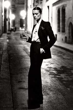 Yves Saint Laurent on Pinterest | Helmut Newton, Saint Laurent and ...