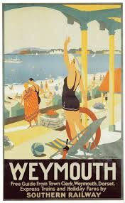 Uk Southern Railway Poster by The Advertising Archives Posters Uk, Train Posters, Railway Posters, Poster Prints, Retro Posters, Advertising Archives, British Seaside, Tourism Poster, Art Deco Movement