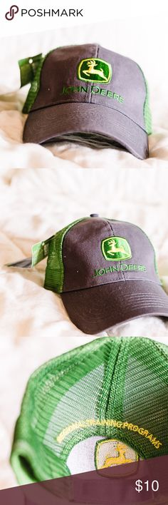 6a77461f9094d John Deere Hat with Mesh Back. NWT NWT. John Deere Hat with Ventilated Mesh