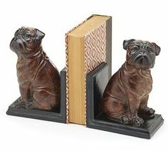 "Set of 2 Brown Bulldog 7 1/2"" Bookends for Dog Lovers and Home Decor Burton & Burton http://www.amazon.com/dp/B008J231CA/ref=cm_sw_r_pi_dp_i.JItb1AMPNEQ566"