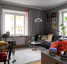 06864da0c É sala com decoração cheia de personalidade que você quer  Essa tem de  sobra 😜