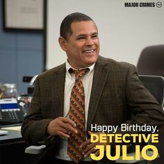 <3 Raymond Cruz! Julio is a great character!