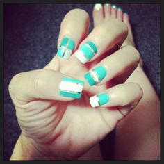 Simple but not so easy nails design :-)