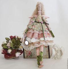 Куклы Тильды ручной работы. Заказать Кукла Тильда цветочный ангел Люси фея. Мария Кондракова (MarysTilda). Ярмарка Мастеров.