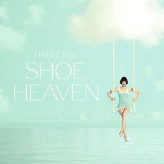 Be an angel and enter Harrods Shoe Heaven - just opened on the fifth floor of Harrods, Knightsbridge! #London #Harrods #shoes http://www.harrods.com/shoe-heaven/in-store