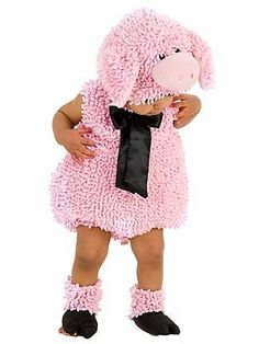 Pig costume from the Catch My Party Store! #costume #pig