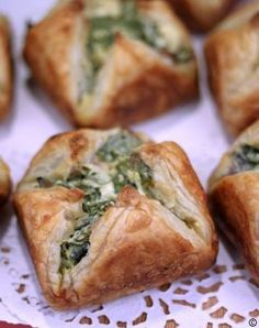 Spinach Bacon Cheese Puffs #best recipe to try