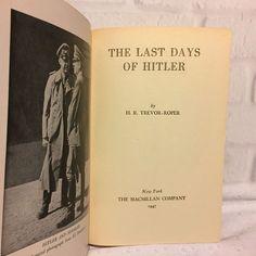 The Last Days of Hitler Trevor Roper 1947