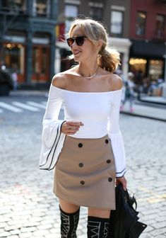 Bell Sleeves and Mini Skirts | MEMORANDUM, formerly The Classy Cubicle