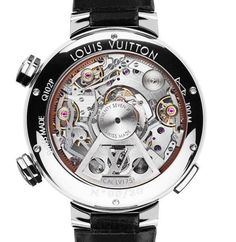 15042c6eed32 Louis Vuitton Tambour Twin Chronograph debuts at Baselworld Montres Mode,  Montres De Luxe, Montre