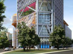 Torré Bancomer. 57 floors. Legorreta + Legorreta Arquitectos