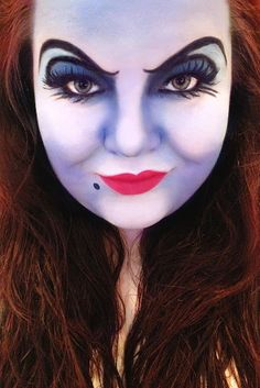 disney ursula makeup