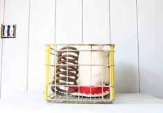 Milk Crate // Industrial Storage by genrestoration on Etsy, $32.00