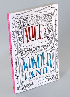 Hand-drawn Type for Alice's Adventures in Wonderland