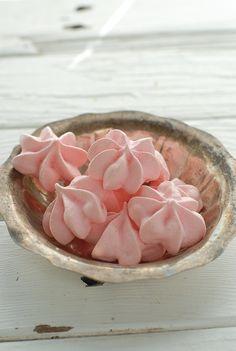 Forget Me Nots rose-flavored meringues - BoulderLocavore.com