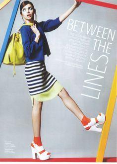 Look Magazine Look Magazine, Cheer Skirts, Collection, Women, Fashion, Moda, Fashion Styles, Fashion Illustrations, Woman