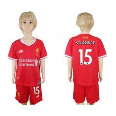 Camisetas Futbol Liverpool F.C. Home 15 Sturridge Kids Rojo New Balance 2017 -2018 Camisetas de de1d7adadb4a1