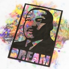 Make this colorful window art for yourself or with kids for Martin Luther King Jr Day. Full tutorial and free download.