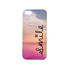 """Coque pour iPhone """"Smile"""" avec paysage de mer"""