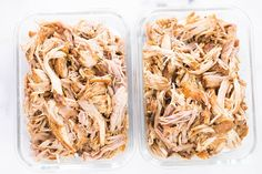 Pulled pork has never been this quick and easy! Learn all the secrets behind my Instant Pot pulled pork recipe, plus try 4 different instant pot pulled pork recipes that are perfect for meal prep during the week! Bbq Pulled Pork Recipe, Making Pulled Pork, Pulled Beef, High Protein Meal Prep, High Protein Recipes, Low Sodium Chicken Broth, Pressure Cooker Recipes, Instant Pot, Food Processor Recipes