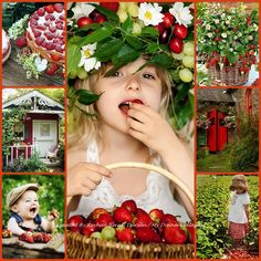 '' Strawberry Cottage '' by Reyhan Seran Dursun