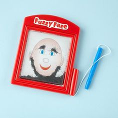 stocking stuffer - magnetic fuzzy face