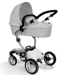 $1,500 stroller mima xari 2-1 Snow White package shipped from the UK & it's mine ;) can't wait until baby Renesmaè & I can stroll in it !