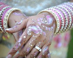 Glitter Mehndi