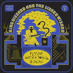 Review of Flying Microtonal Banana, ninth album of the career of The Australians King Gizzard and The Lizard Wizard since their debut in 2012.