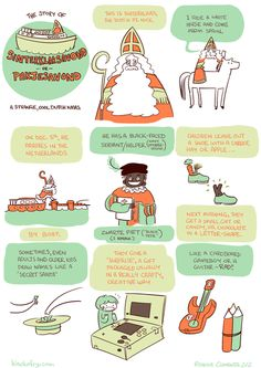 Merry Xmas or whatever merry/happy you like!  I wanted to tell the story of the Dutch Sinterklaasavond because when I heard about it, my jaw...