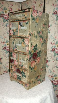 417 best images about Vintage Covered Boxes on Pinterest | Sewing ...