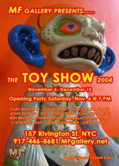"""2004 MF TOYS SHOW"" 11/6 - 12/12 2004"