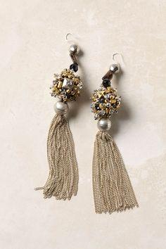 tassel earrings #anthropologie