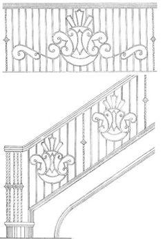 Stair Railing Designs ISR406