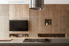This apartment has awesome details for its interior. The details are precisely and concerned thoroughly manufactured. The wall panels, cabinets, and shelves are attached by the 29000 separated wooden Modern Minimalist House, Minimalist Architecture, Interior Architecture, Apartment Renovation, Apartment Design, Kitchen Cabinets On A Budget, Professional House Cleaning, Interior Design Photography, Tv Wall Design