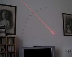 Laser-Based Sundial for your Apartment Wall