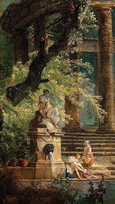 Renaissance Kunst, Renaissance Paintings, Nature Aesthetic, Art Moderne, Classical Art, Art Abstrait, Old Art, Pretty Art, Art And Architecture