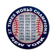 New York yankees world series Ornament (Round)