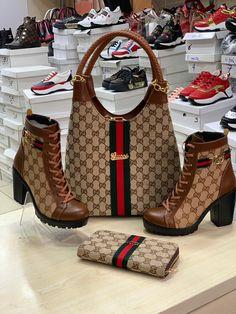Fashion Sandals, Sneakers Fashion, Handbags Michael Kors, Purses And Handbags, Luis Vuitton Shoes, Stylish Walking Shoes, Channel Bags, Diamond Mangalsutra, Stylish Handbags